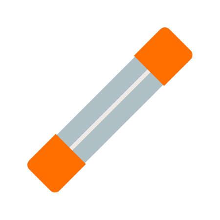 Fuse, doos, het elektrische pictogram vector. Kan ook worden gebruikt voor elektrische circuits. Geschikt voor gebruik op het web apps, mobiele apps en gedrukte media.