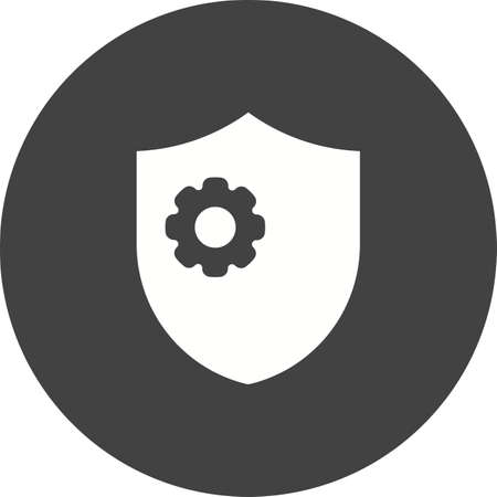 parameters: Shield, protection, sign icon vector image.Can also be used for security. Suitable for web apps, mobile apps and print media.