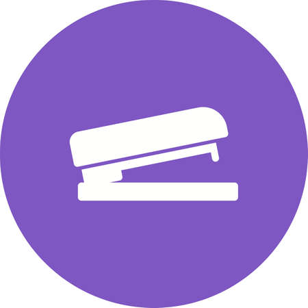 bind: Stapler, office, bind icon vector image.Can also be used for stationery. Suitable for mobile apps, web apps and print media. Illustration