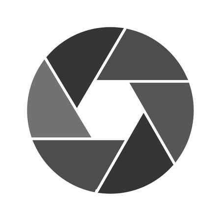 Camera, lens, het pictogram vector video. Kan ook gebruikt worden voor het bewerken van afbeeldingen. Geschikt voor gebruik op het web apps, mobiele apps en gedrukte media.