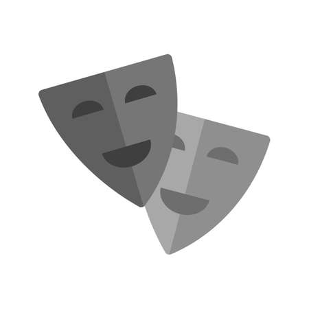 stage costume: Theatre, acting, cinema icon vector image. Can also be used for outdoor fun. Suitable for use on web apps, mobile apps and print media.