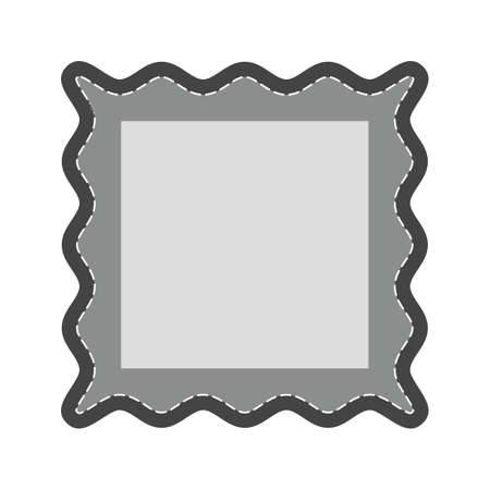 photography frame: Frame, picture, wooden icon vector image.Can also be used for photography. Suitable for mobile apps, web apps and print media.