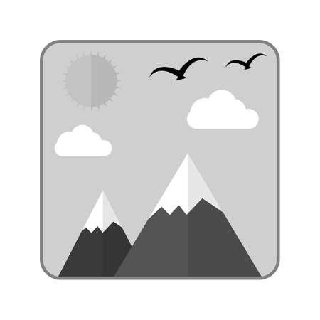 images icon: Gallery, images, photo icon vector image.Can also be used for photography. Suitable for mobile apps, web apps and print media. Illustration