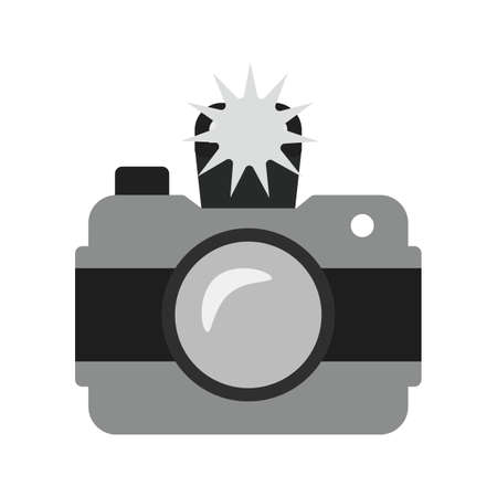 click the icon: Camera, photo, click icon vector image. Can also be used for photography. Suitable for use on web apps, mobile apps and print media.