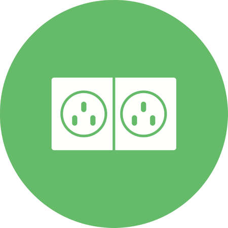 plug electric: Plug, electric, socket icon vector image.Can also be used for tools. Suitable for mobile apps, web apps and print media.