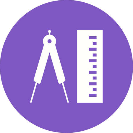 exact: Tape, measure, meters icon vector image. Can also be used for tools. Suitable for use on web apps, mobile apps and print media. Illustration
