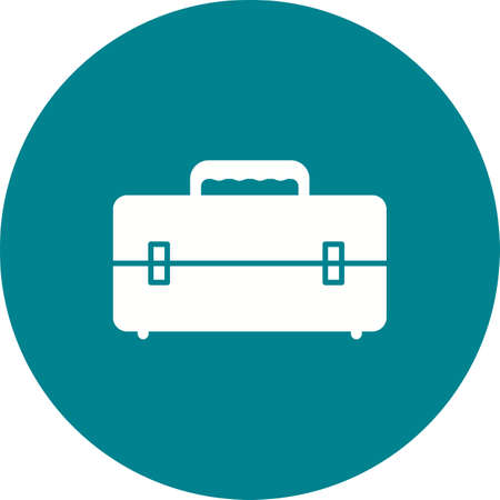 latch: Tool, box, container icon vector image. Can also be used for tools. Suitable for use on web apps, mobile apps and print media. Illustration
