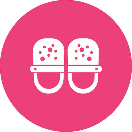 Baby, shoes, feet icon vector image.Can also be used for baby. Suitable for mobile apps, web apps and print media.