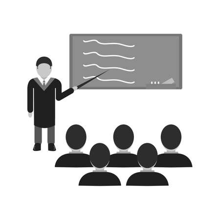 school class: School, class, learning icon vector image.