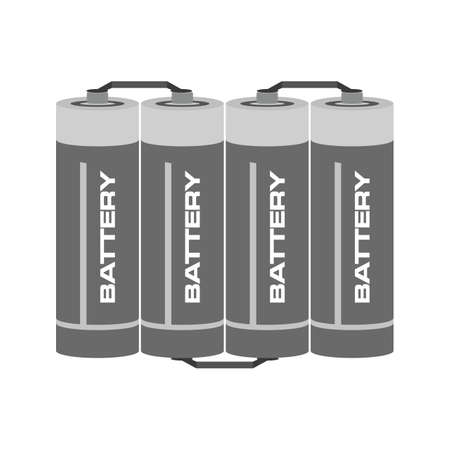 lithium: Battery, lithium, batteries icon vector image.