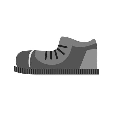 running shoe: Shoes, running, shoe icon vector image. Illustration