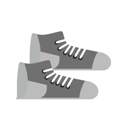 print media: Shoes, sneakers, shoe icon vector image.apps and print media.
