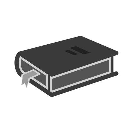 diary: Book, diary, open icon vector image.