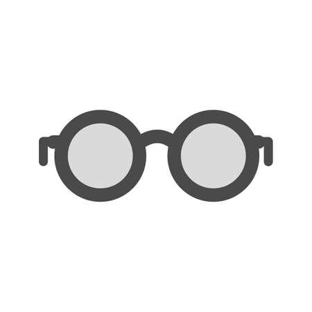 glasses eye: Glasses, eye, frame icon vector image.