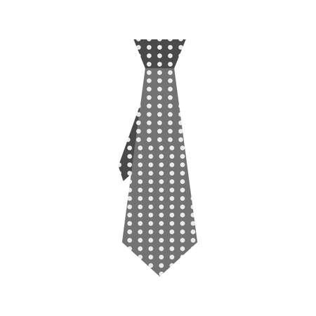 shades of grey: Tie, shades, grey icon vector image. Illustration