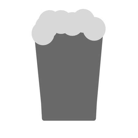 whisky bottle: Alcoholic, drinks, liquor icon vector image. Illustration