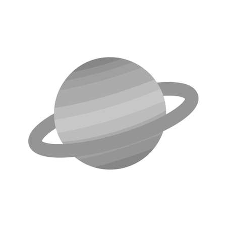 earth from space: Earth, planet, space icon vector image.