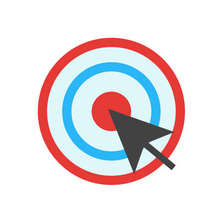 click the icon: Mouse, cursor, click icon vector image. Can also be used for marketing. Suitable for use on web apps, mobile apps and print media.