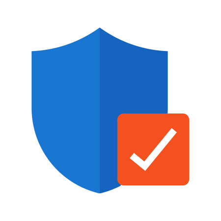 verified: Verified, security, protection icon vector image.Can also be used for security. Suitable for mobile apps, web apps and print media.