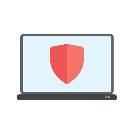 control fraud: Protection, security, system icon vector image.Can also be used for security. Suitable for mobile apps, web apps and print media.