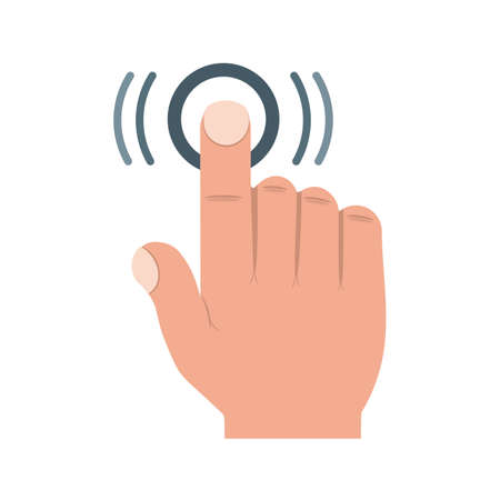 double click: Double, tap, click icon vector image.Can also be used for user touch gestures. Suitable for mobile apps, web apps and print media.