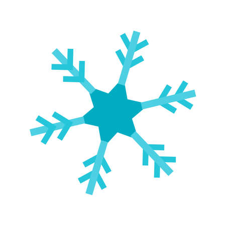 Snowflake, snow, ice icon vector image. Can also be used for winter. Suitable for use on web apps, mobile apps and print media.