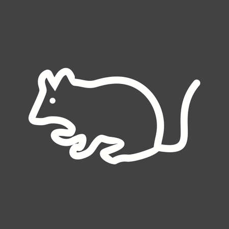 mouse animal: Mouse, animal, rat icon vector image. Can also be used for pet shop. Suitable for mobile apps, web apps and print media.