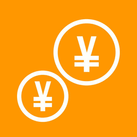 Currency yen icon
