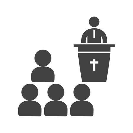 Funeral Sermon icon.
