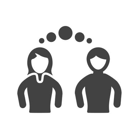 Empathy, support, compassion icon vector image. Can also be used for soft skills. Suitable for mobile apps, web apps and print media. 向量圖像