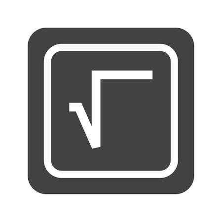 Square Root Symbol Illustration