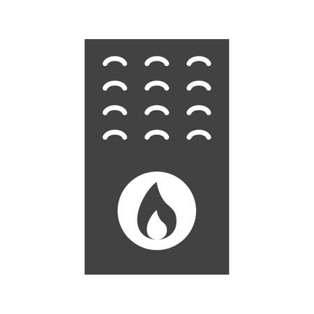 Boiler, gas, furnace icon vector image. Can also be used for Climatic Equipment. Suitable for mobile apps, web apps and print media. Ilustração
