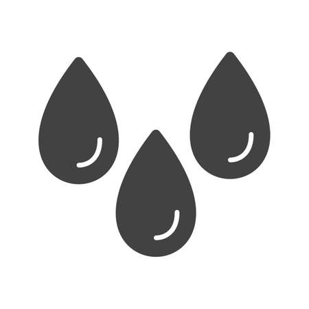 Humidity, water, moist icon vector image. Can also be used for Climatic Equipment. Suitable for mobile apps, web apps and print media. Ilustração
