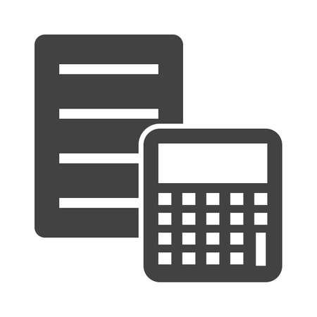 Documented Calculation concept illustration. Illustration