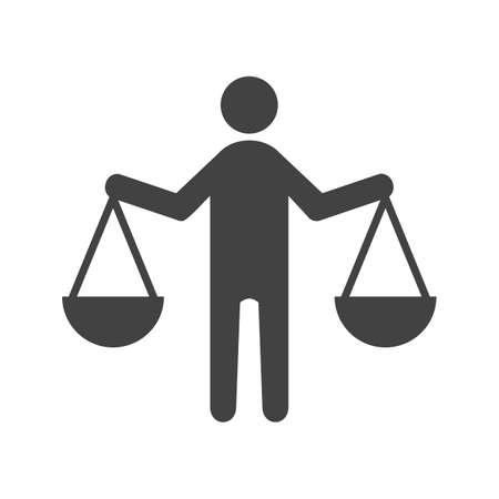 Principes, integriteit, ethiek Stock Illustratie