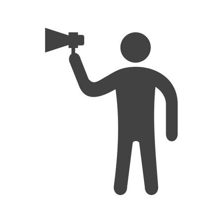 Outspoken, talk, bold icon vector image. Can also be used for Personality Traits. Suitable for web apps, mobile apps and print media. Illustration