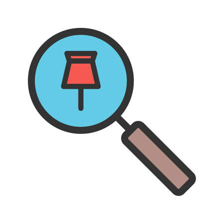 Tracking icon vector image.