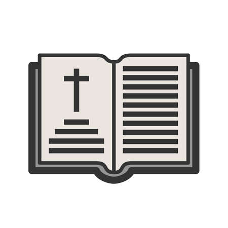 Holy Book Chapter Vector illustration.