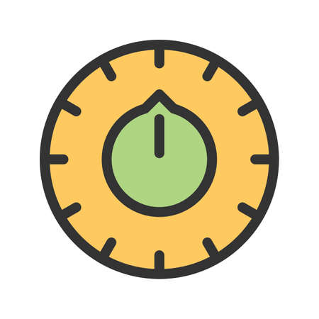Thermostat, digital, button icon vector image. Can also be used for climatic equipment. Suitable for use on web apps, mobile apps and print media.