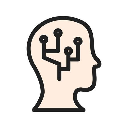Data, information, intelligence icon vector image. Can also be used for Data Analytics. Suitable for use on web apps, mobile apps and print media.
