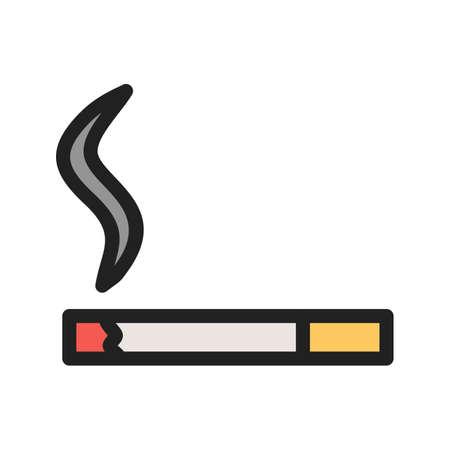 Lit Cigarette icon Çizim