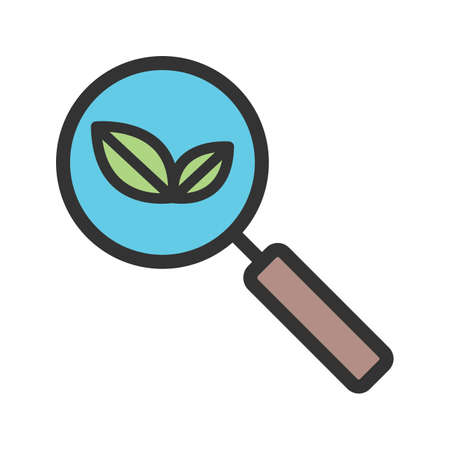 Organic Search icon vector Ilustrace