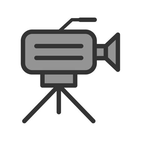 Caméra sur le stand Banque d'images - 92100660