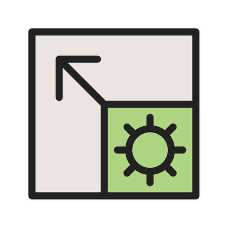 Scalable System icon Ilustrace