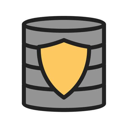 Secured Backup icon 일러스트