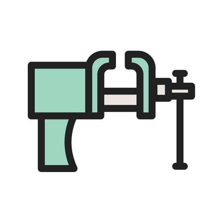 herramienta de color icono Ilustración de vector