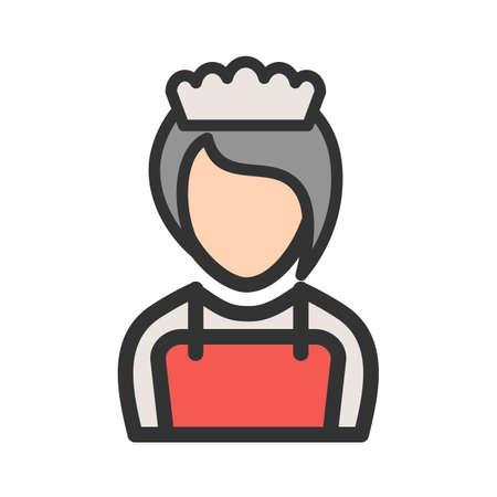 Girl as Waitress