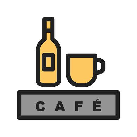 Dranken café pictogram