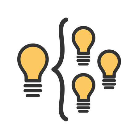 Facilitation, business, skills icon vector image. Can also be used for soft skills. Suitable for mobile apps, web apps and print media. Illustration