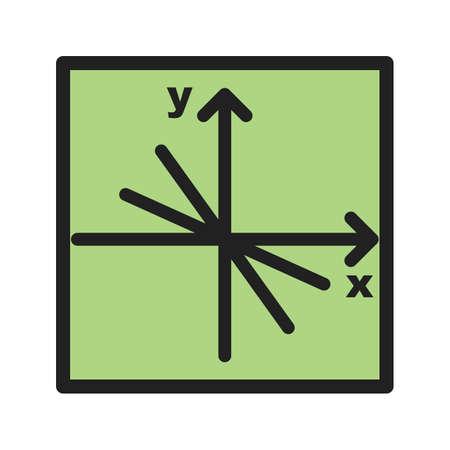 Mathematics icon 版權商用圖片 - 92114857